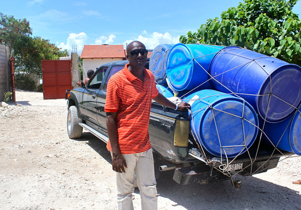 water drum delivery