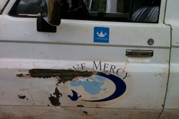 Love Mercy support vehicle